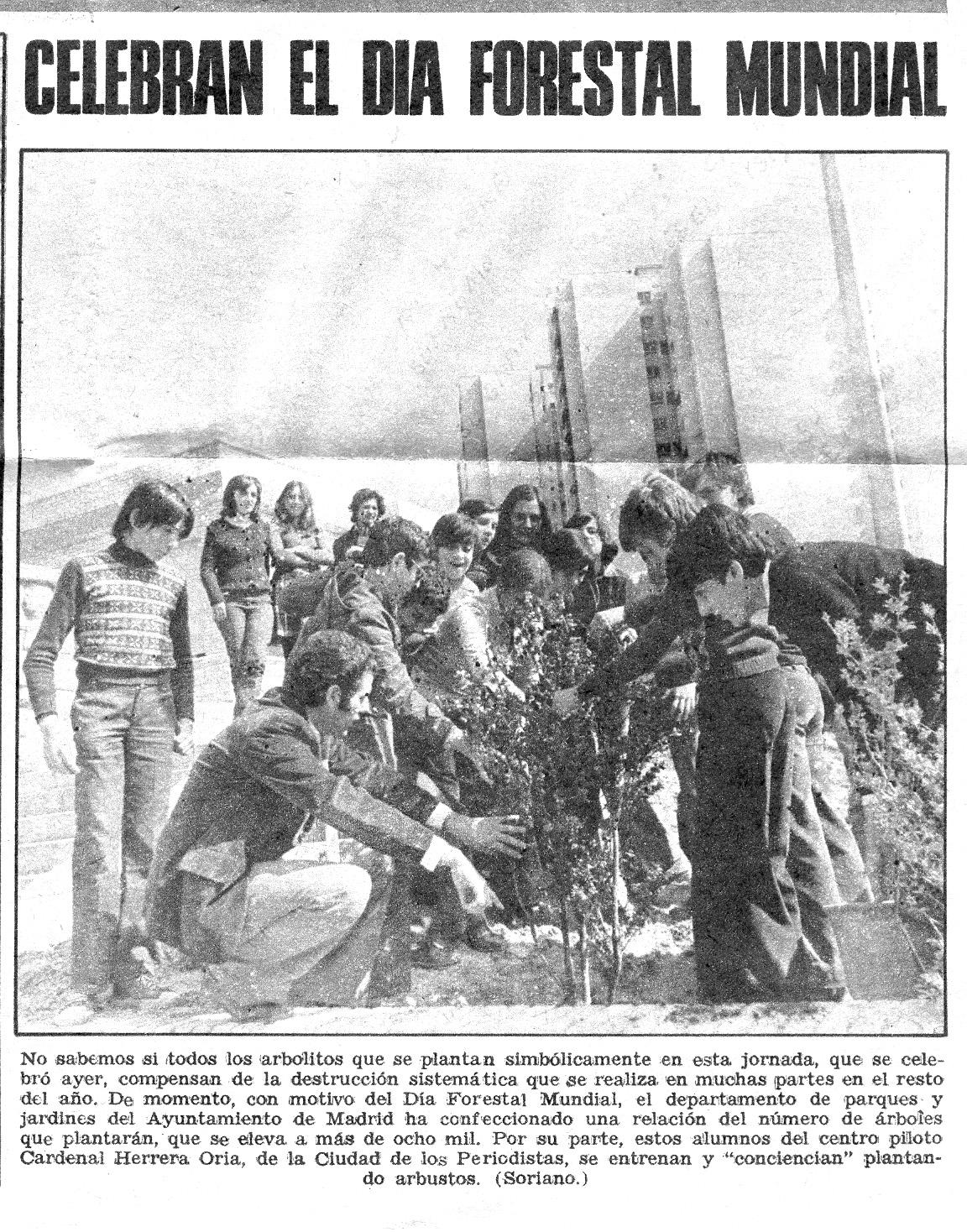 Día Forestal Mundial 1/03/1975